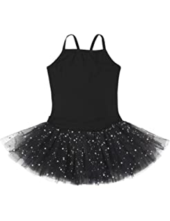 c4606543c Amazon.com  Kids Girls Ballet Tutu Leotard Bodysuit Dance Braces ...