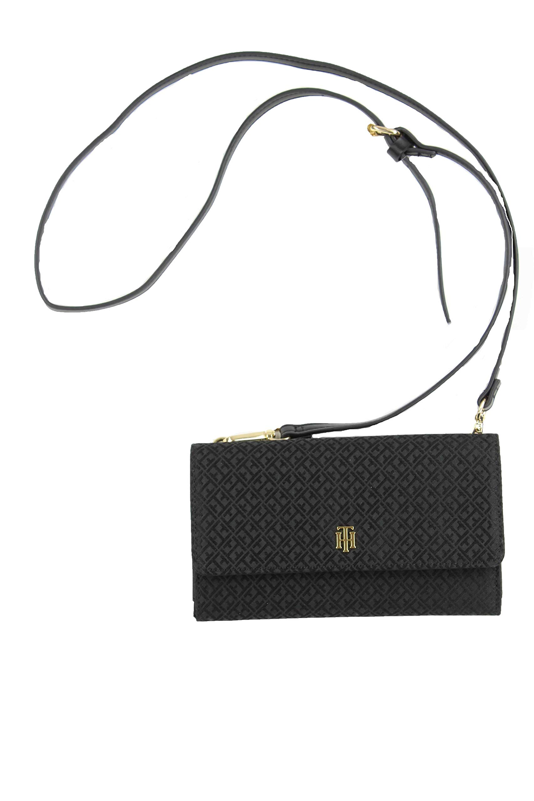 Tommy Hilfiger Crossbody Wallet with a Snap Phone Pocket