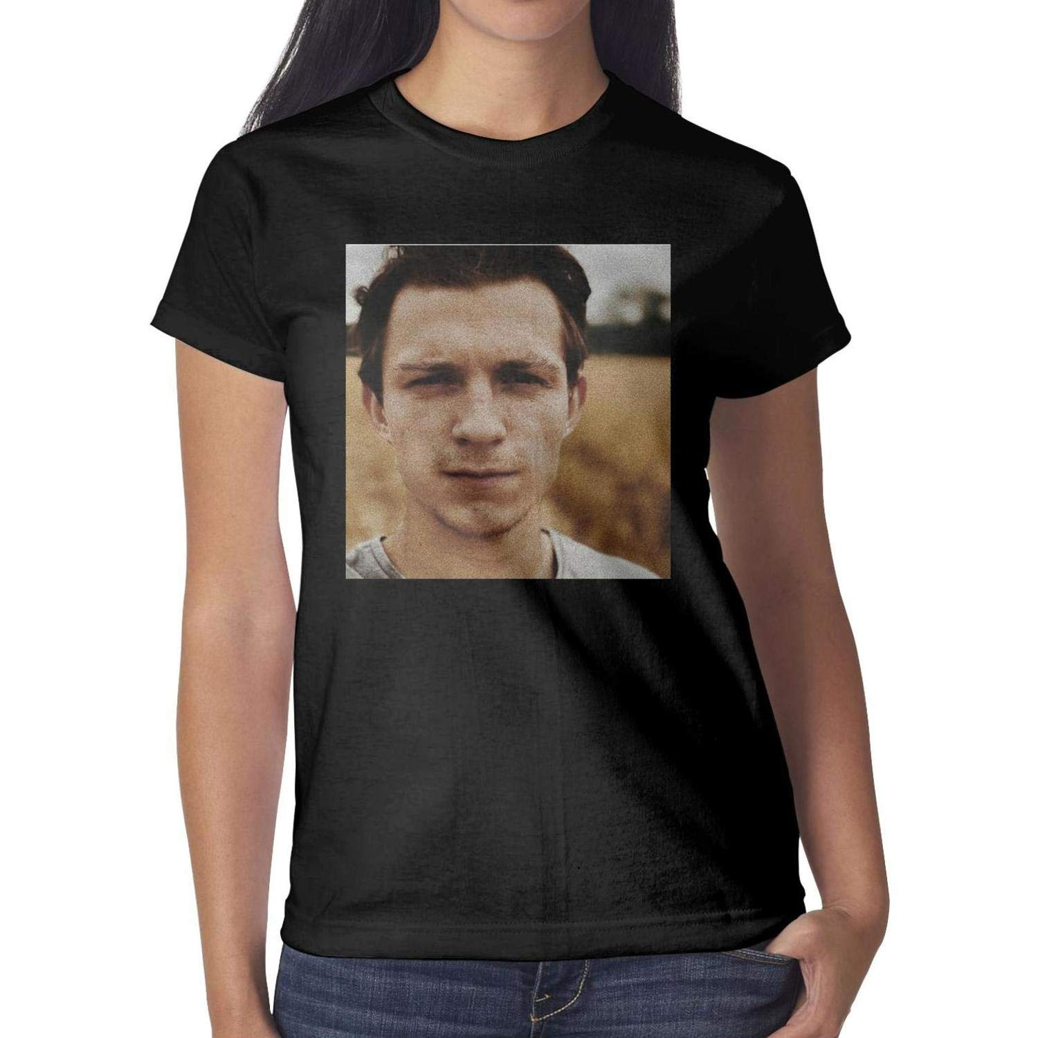 Tom Holland Poster Short Sleeved Shirts
