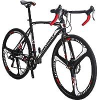 Eurobike 21 Speed Shifting System Road Bike 54/56 cm Frame 700C Wheel Adult Road Bicycle