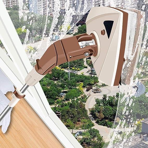 GPWDSN Limpiador de Ventanas magnético de Doble Cara Ajustable Limpiaparabrisas de Vidrio Cepillos para Lavar Ventanas Herramientas de Limpieza del hogar, Limpiador de Ventanas magnético para Doble: Amazon.es: Hogar