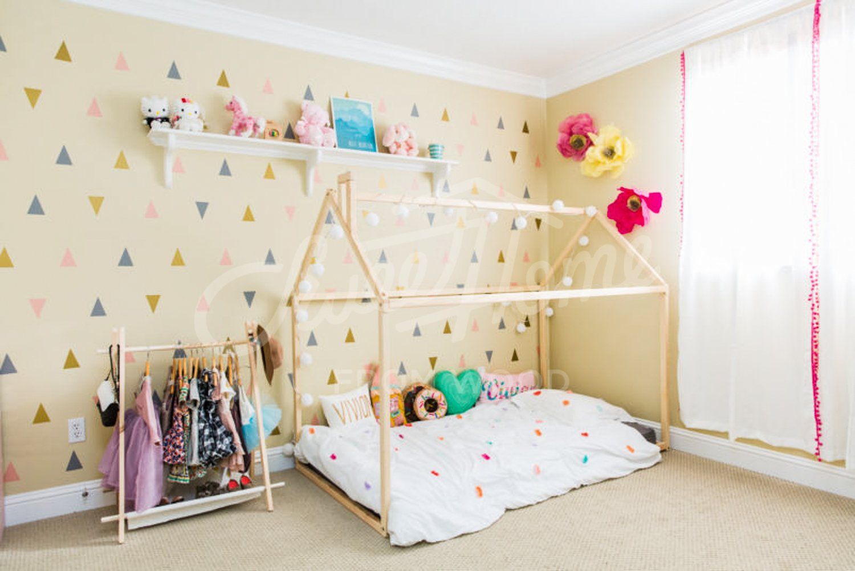Sweet Home à partir de Bois Montessori Maison Lit Baltsum