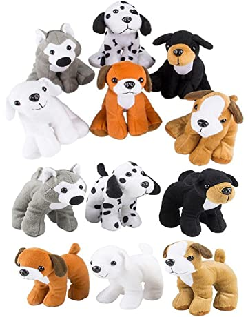 588475cf11f 4E s Novelty Stuffed Plush Soft Dogs Animals Puppies Bulk Party Favor