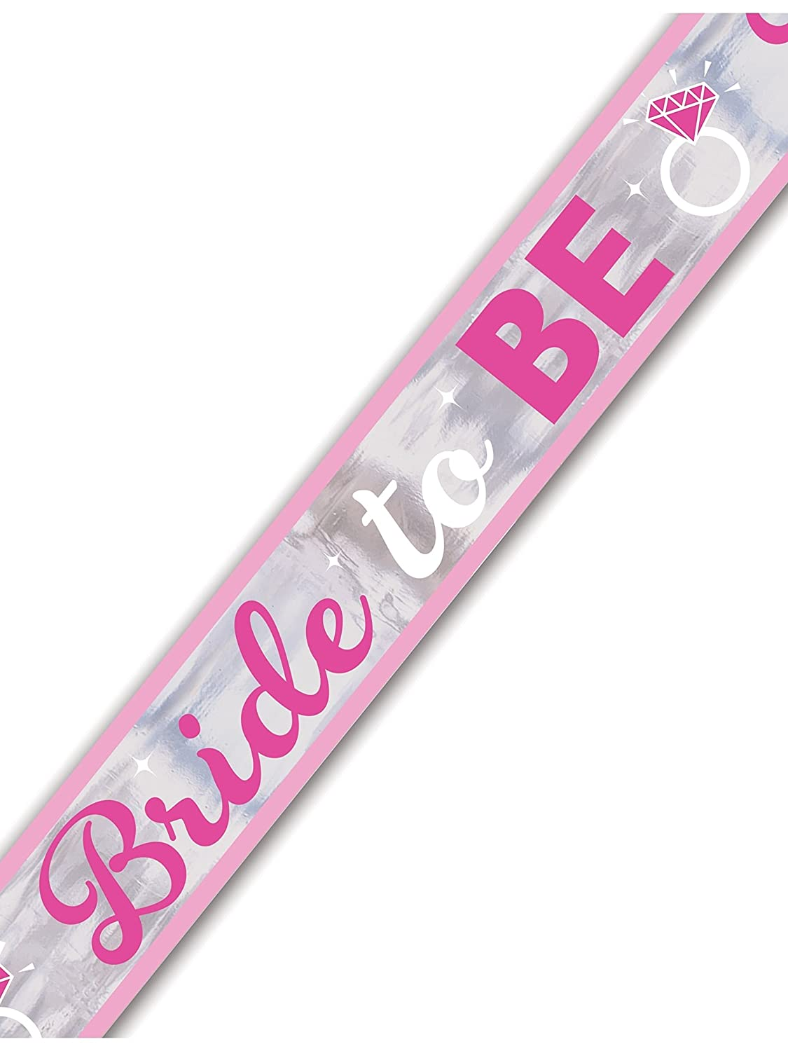 Amscan 9900535 7 m Hen Party Bride to Be Foil Banner Amscan Internatinal Ltd