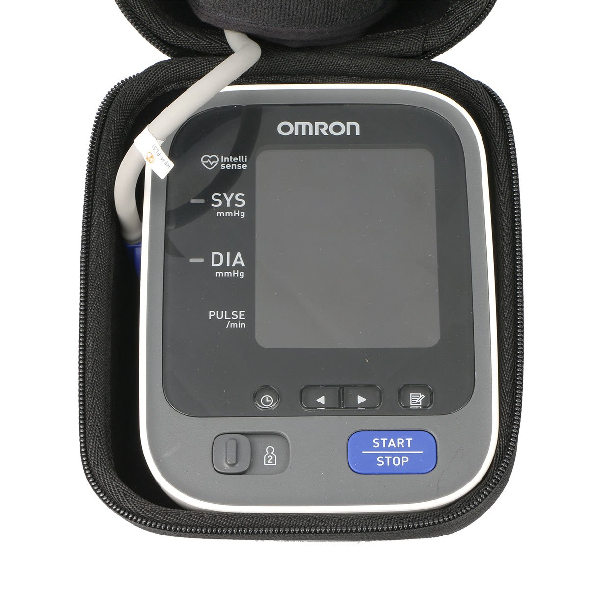 Khanka Duro Viaje Estuche Bolso Funda para Omron M10-IT Tensiómetro de brazo eléctrico (HEM-7080IT-E): Amazon.es: Industria, empresas y ciencia