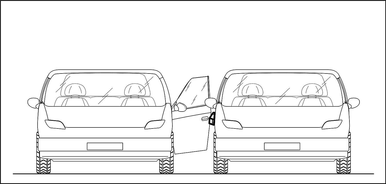 Protecteur de porte magn/étique et amovible pour voiture XXL EXTRA LARGE AND RESISTANT ML INNOVATIONS anti-choc