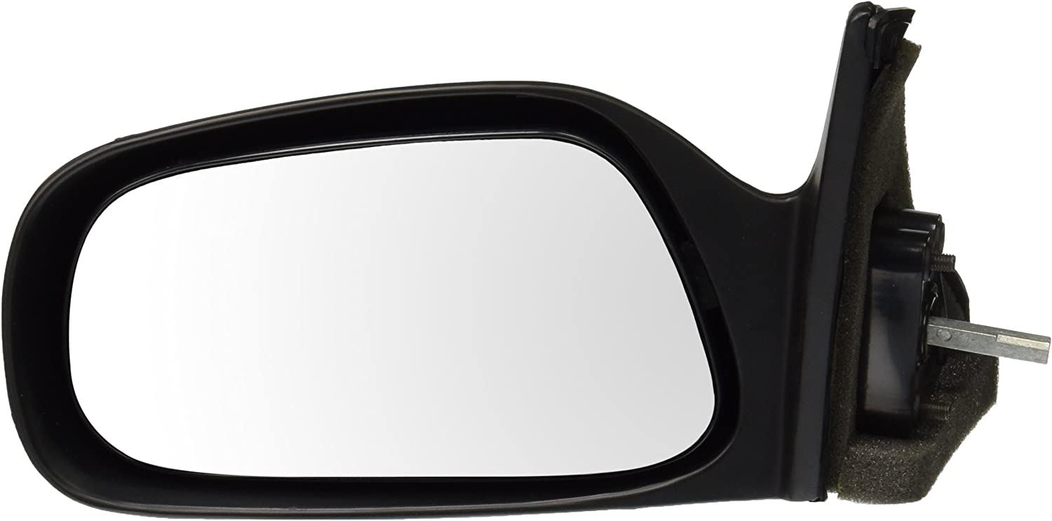 For Toyota Corolla Black Manual Replacement Driver Side Mirror