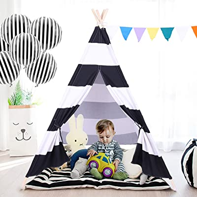 besrey Teepee Tent Kids Play Child Boy Indian for Infants Indoor Outdoor: Toys & Games