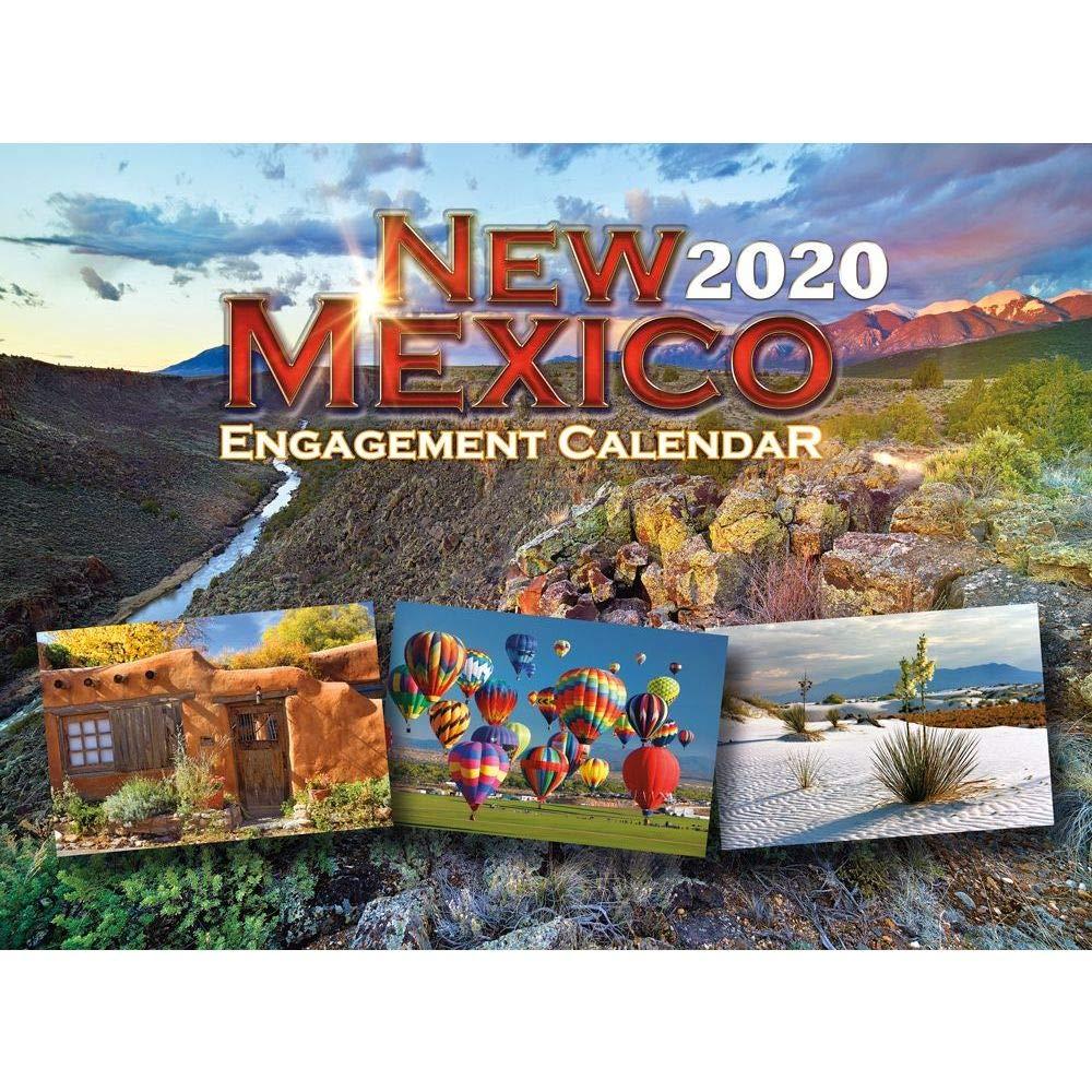 Unm Academic Calendar Fall 2020.Amazon Com Smith Southwestern 2020 New Mexico Wall