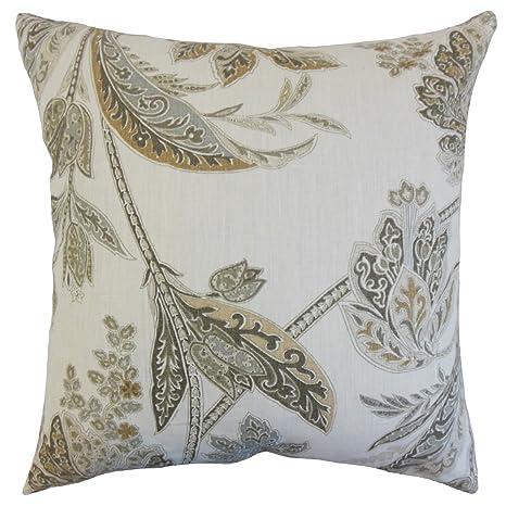 La Almohada Collection Taja para cojín, diseño de Flores ...