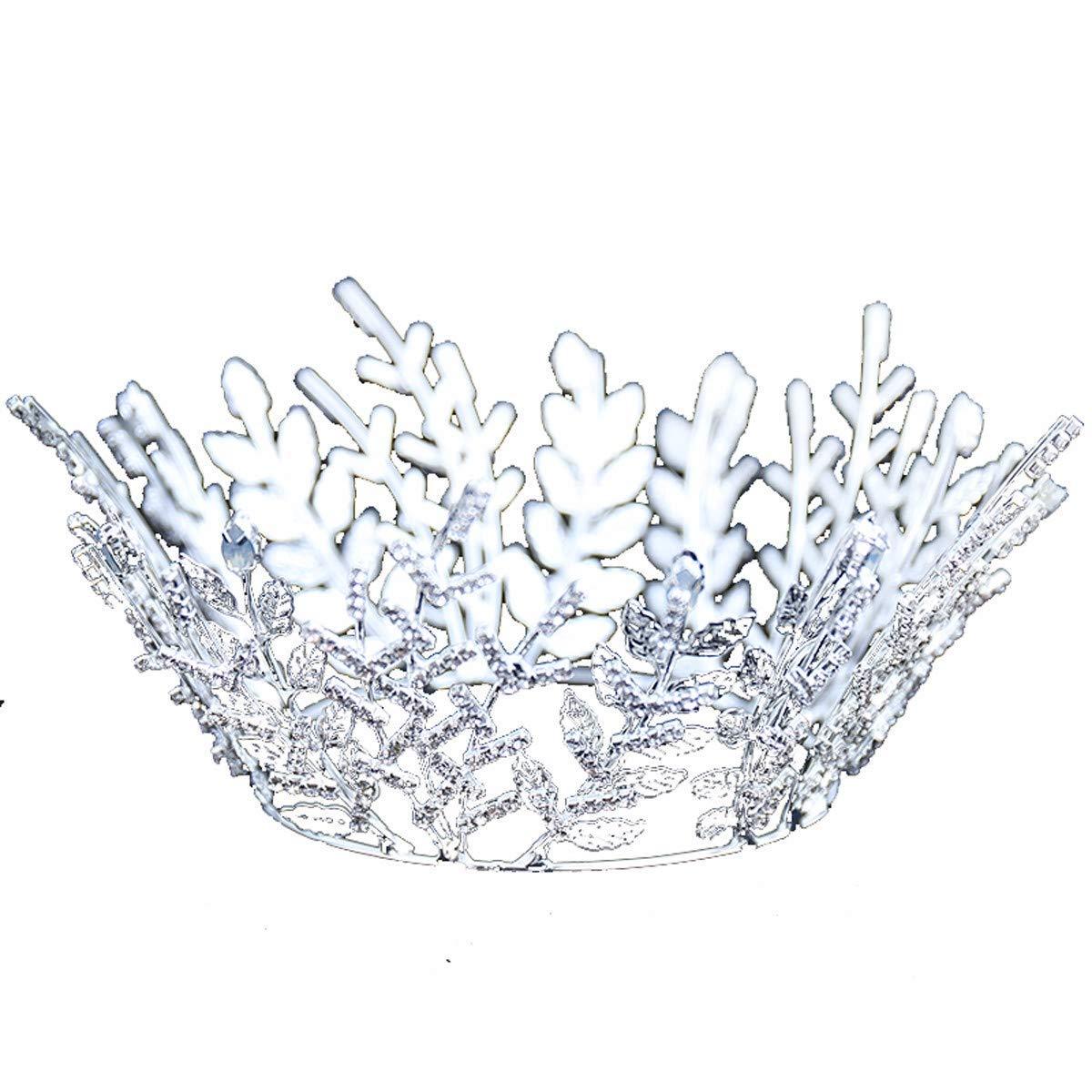 Wedding Crown, Beautiful headdress/Bridal Crown Ornament Luxurious Princess Adult Wedding Dress Accessories Dress Crown Ornaments.