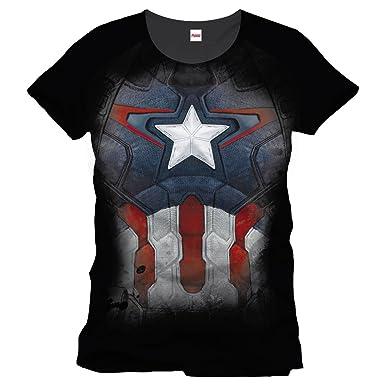 Captain America – Camiseta con diseño de traje de Capitán ...