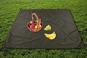 P Prettyia Portable Camping Picnic Garden Seat Cushion Pad,Inflatable Moistureproof Mat with Storage Bag