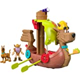 Fisher-Price IMAGINEXT Scooby-Doo Viking Ship, Multi Color