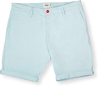 Brava Fabrics | Bermudas Hombre | Pantalones Cortos Chinos para ...