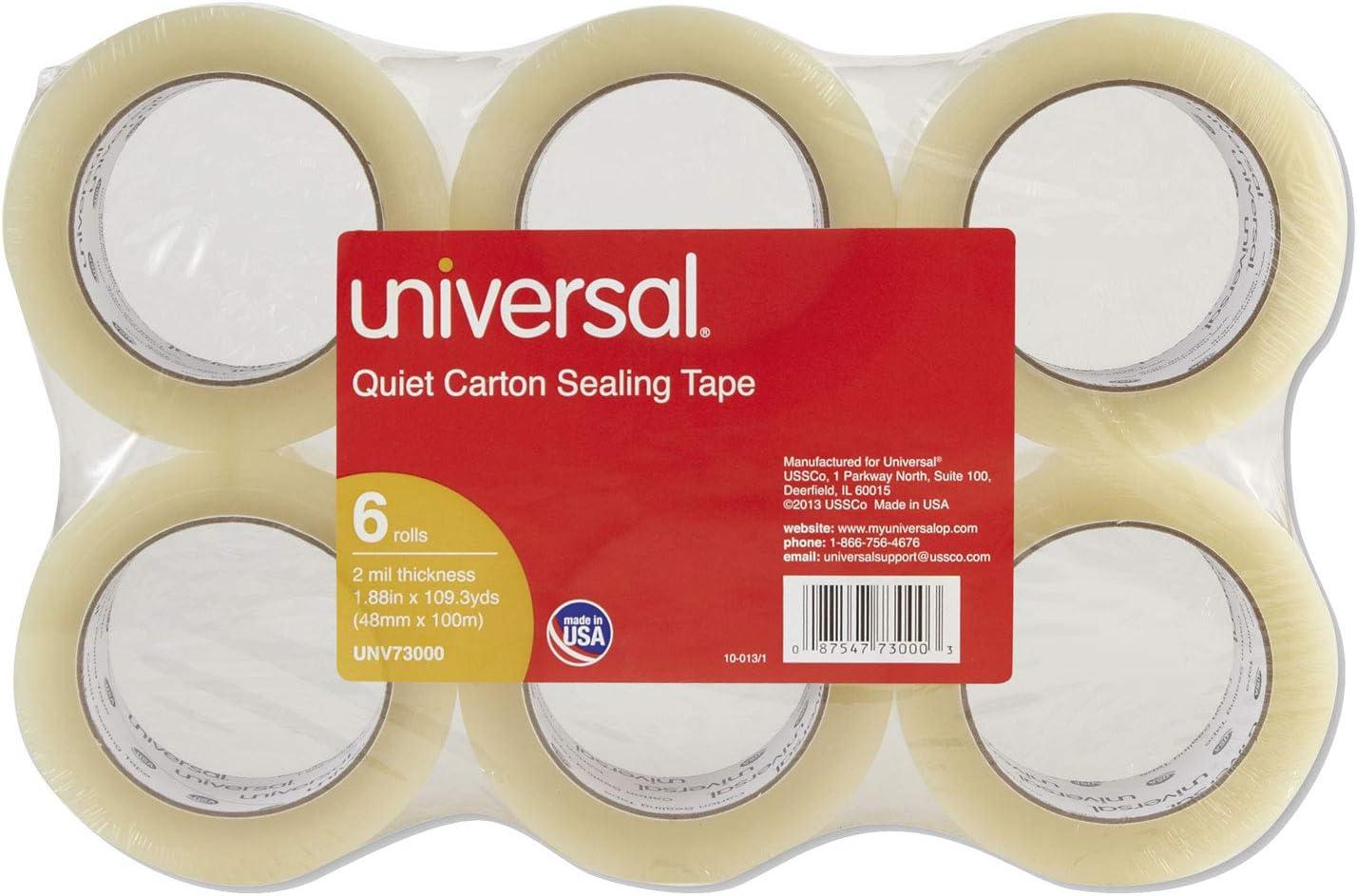 UNV73000 Quiet Carton Sealing Tape