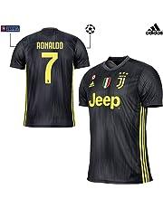 JUVENTUS Maglia Ronaldo Gara Third 2018 19 - Originale - Bambino - Patch  Scudetto e b21570f279e