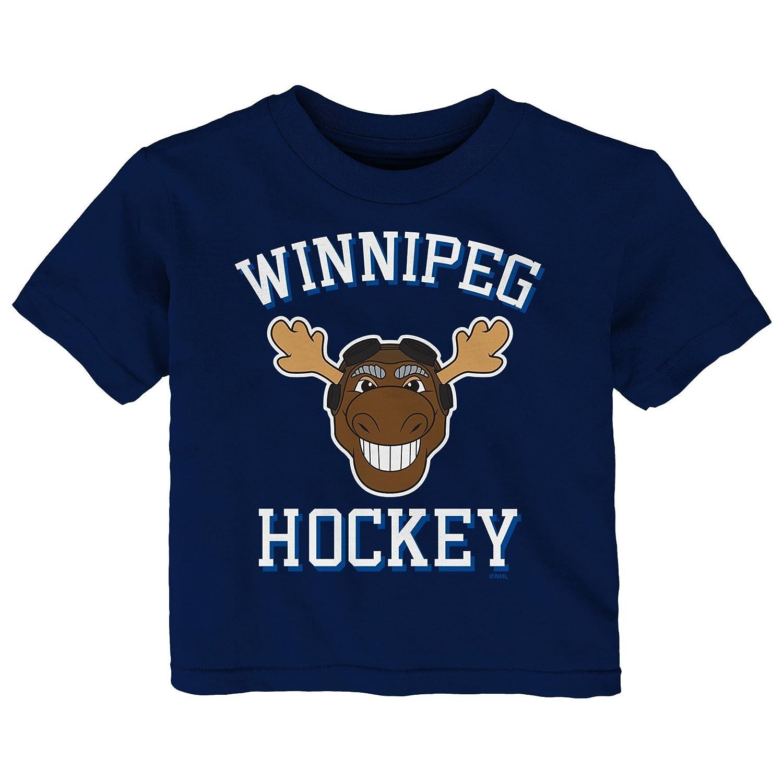 最も信頼できる NHL Jets B076428H36 Infant「Hello Mascot」半袖Tシャツ 12 Winnipeg Months Winnipeg Jets B076428H36, 【ラッピング無料】:e6b88ee9 --- narvafouette.eu