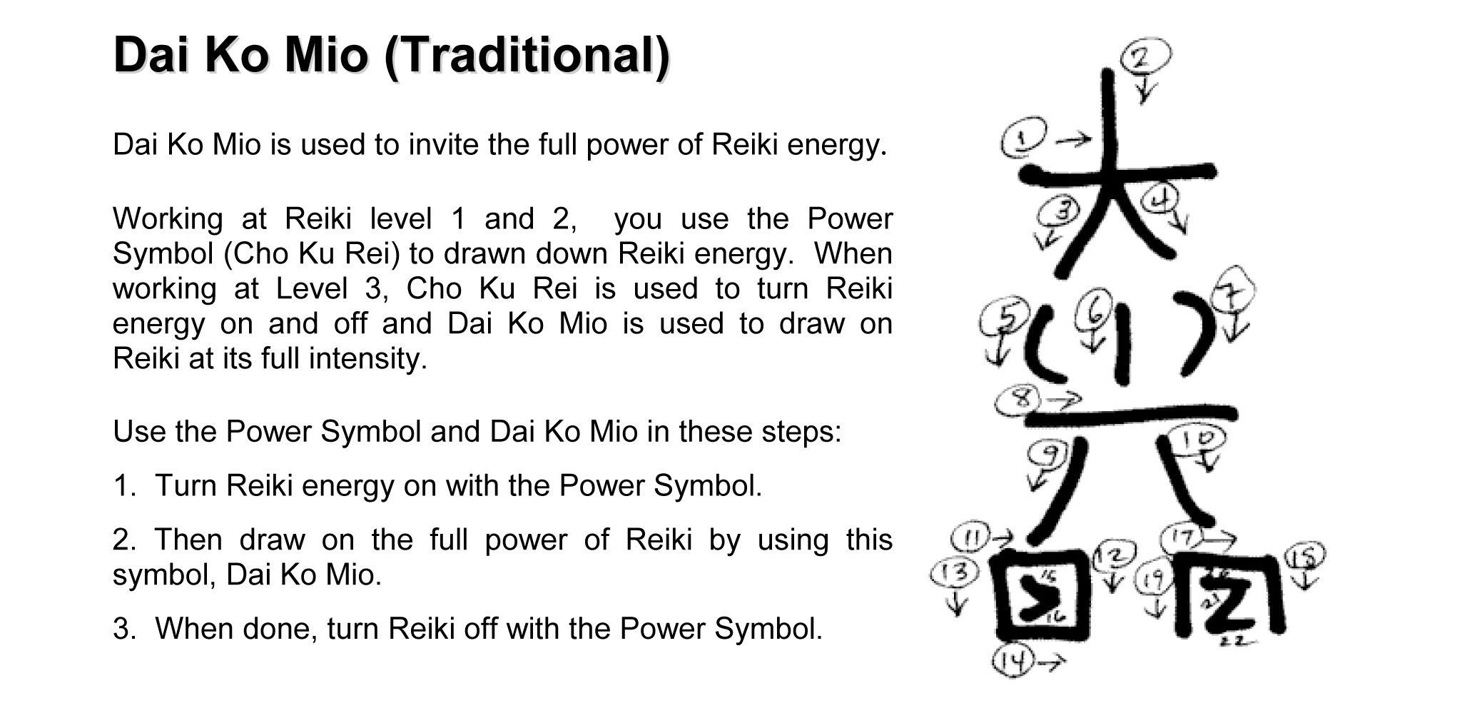 Reiki Symbols Cards Reiki Learning Series Corinne Friesen