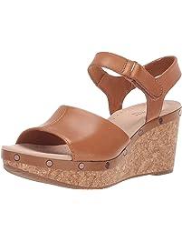 Clarks Womens Annadel Clover Platform & Wedge Sandals