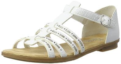 Rieker Damen 64274 Offene Sandalen mit Keilabsatz