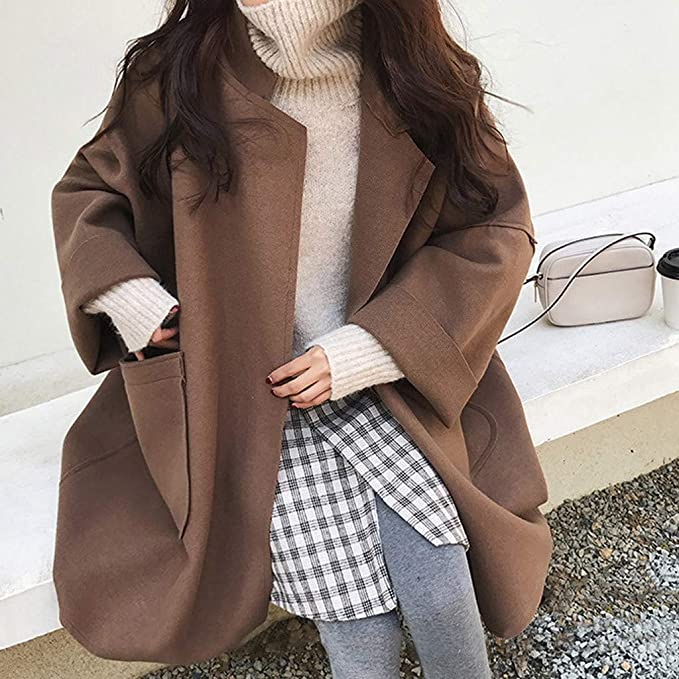 2019 New Female Long Sleeve Lapel Button Down Autumn Outwear Lightweight Outerwear LANTOVI Women Trench Coats Long