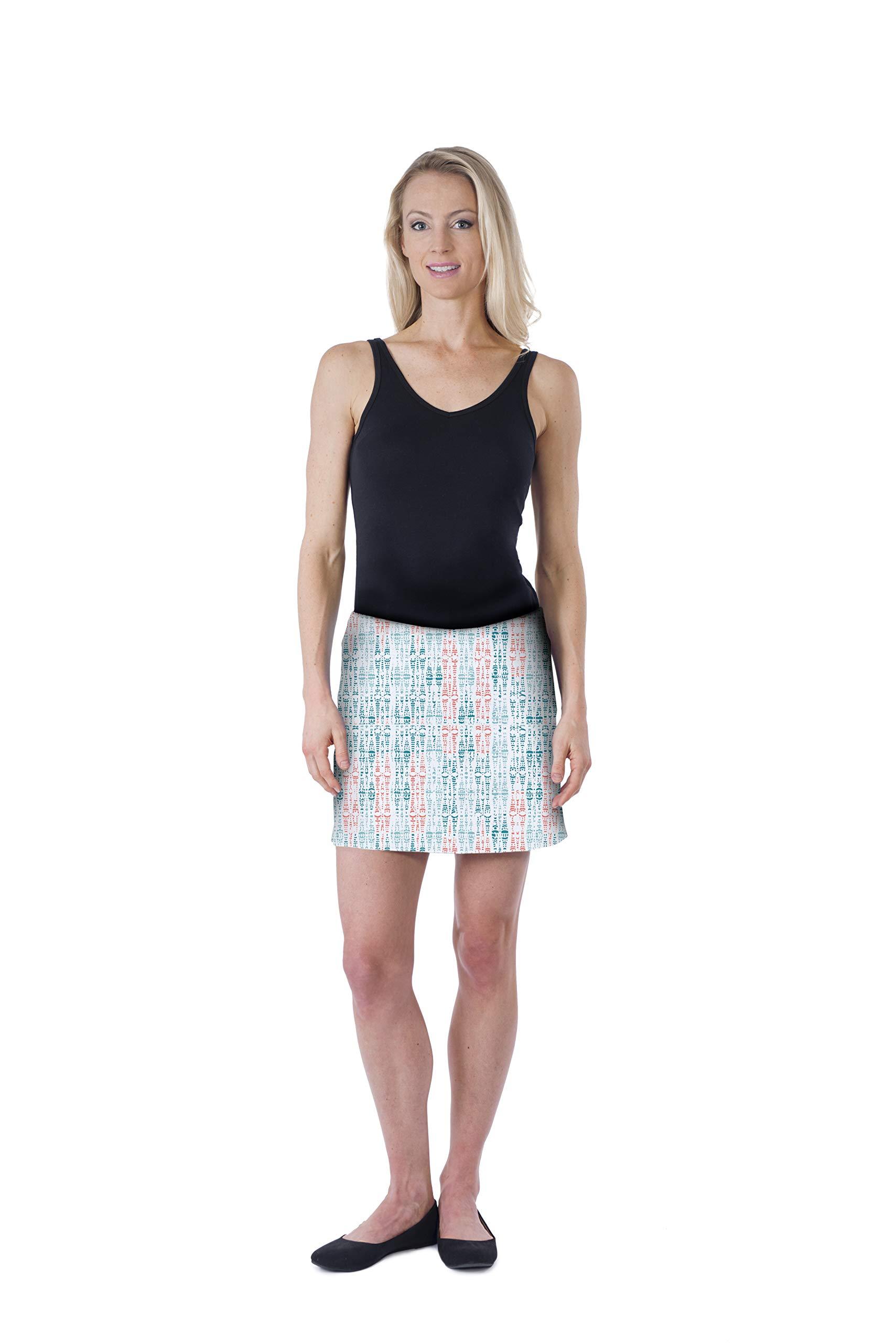 Colorado Clothing Women's Everyday Skort (Amazonia, X-Small) by Colorado Clothing