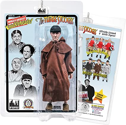 The Three Stooges 8 Inch Action Figures Monk Curly