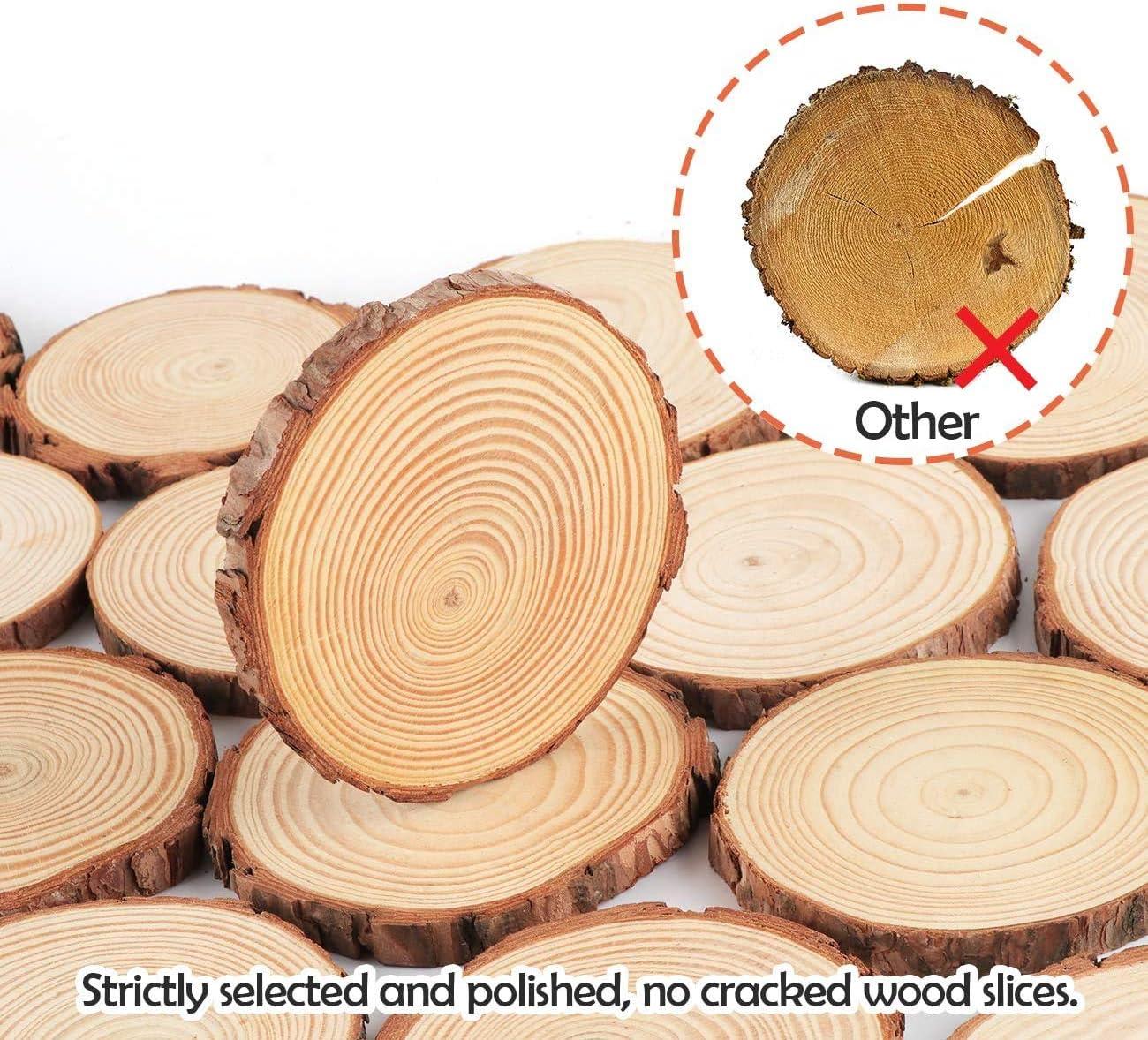 Tree Slice Wooden Disc approx 100 x 50 x 5 cm Washbasin Plate Oak