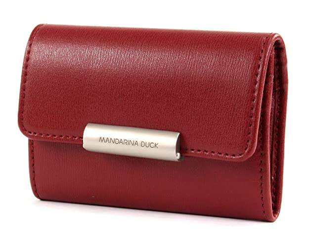 MANDARINA DUCK Hera 3.0 Wallet with Flap M Geldbörse Red Rot Neu