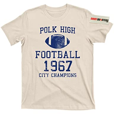 huge discount 9077a 5b7c2 Al Bundy Polk High School Football Legend tee t Shirt (1967 Vintage Cotton,  Small