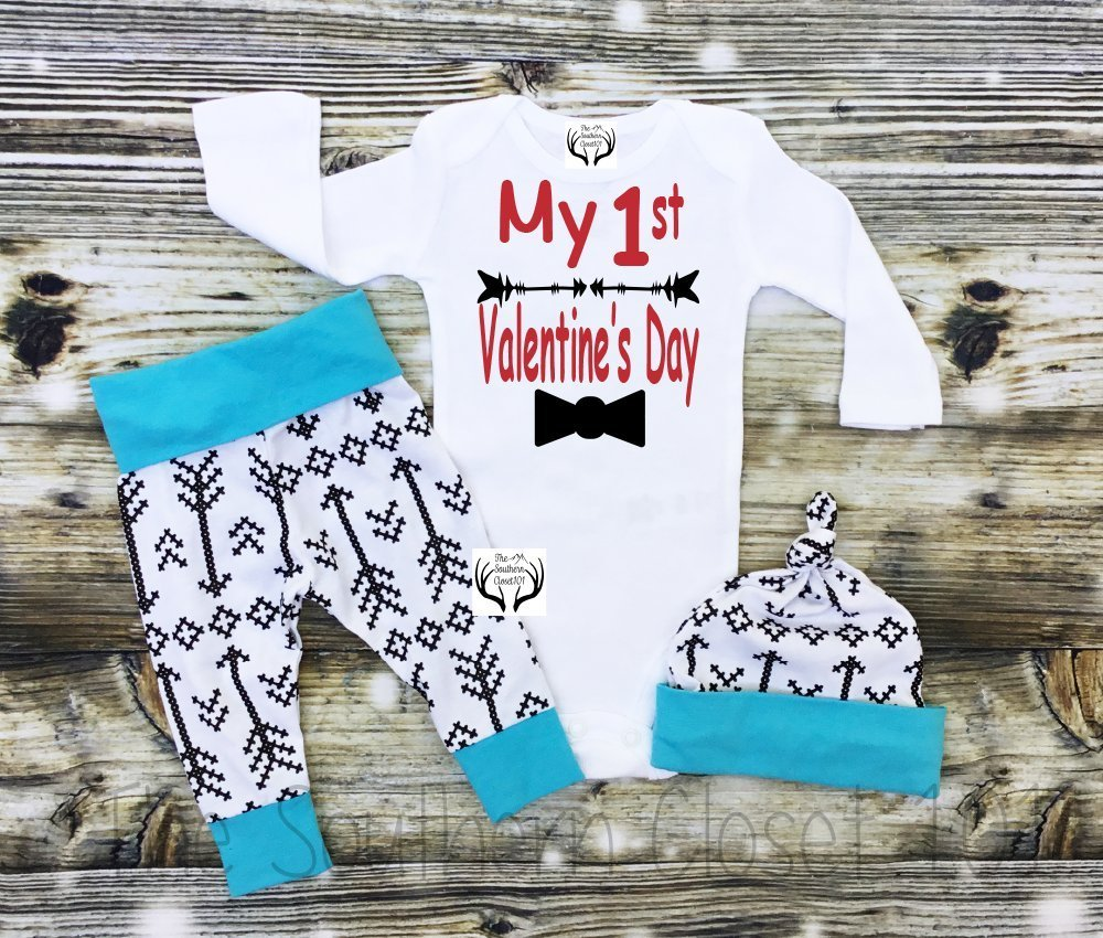 Boys First Valentine's Day Outfit