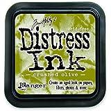 Ranger DIS-27126 Tim Holtz Distress Ink Pad, Crushed Olive
