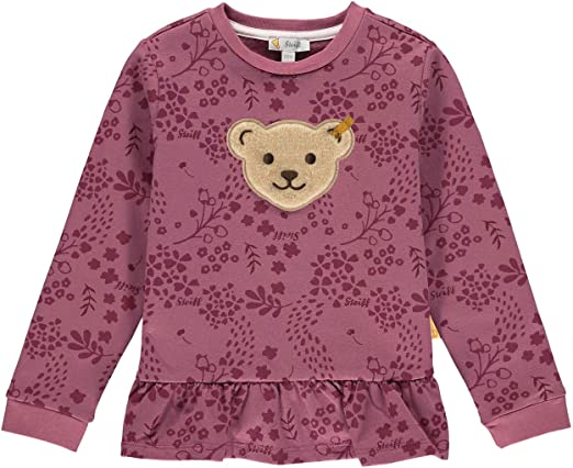 Steiff M/ädchen Mit S/ü/ßer teddyb/ärapplikation Sweatshirt