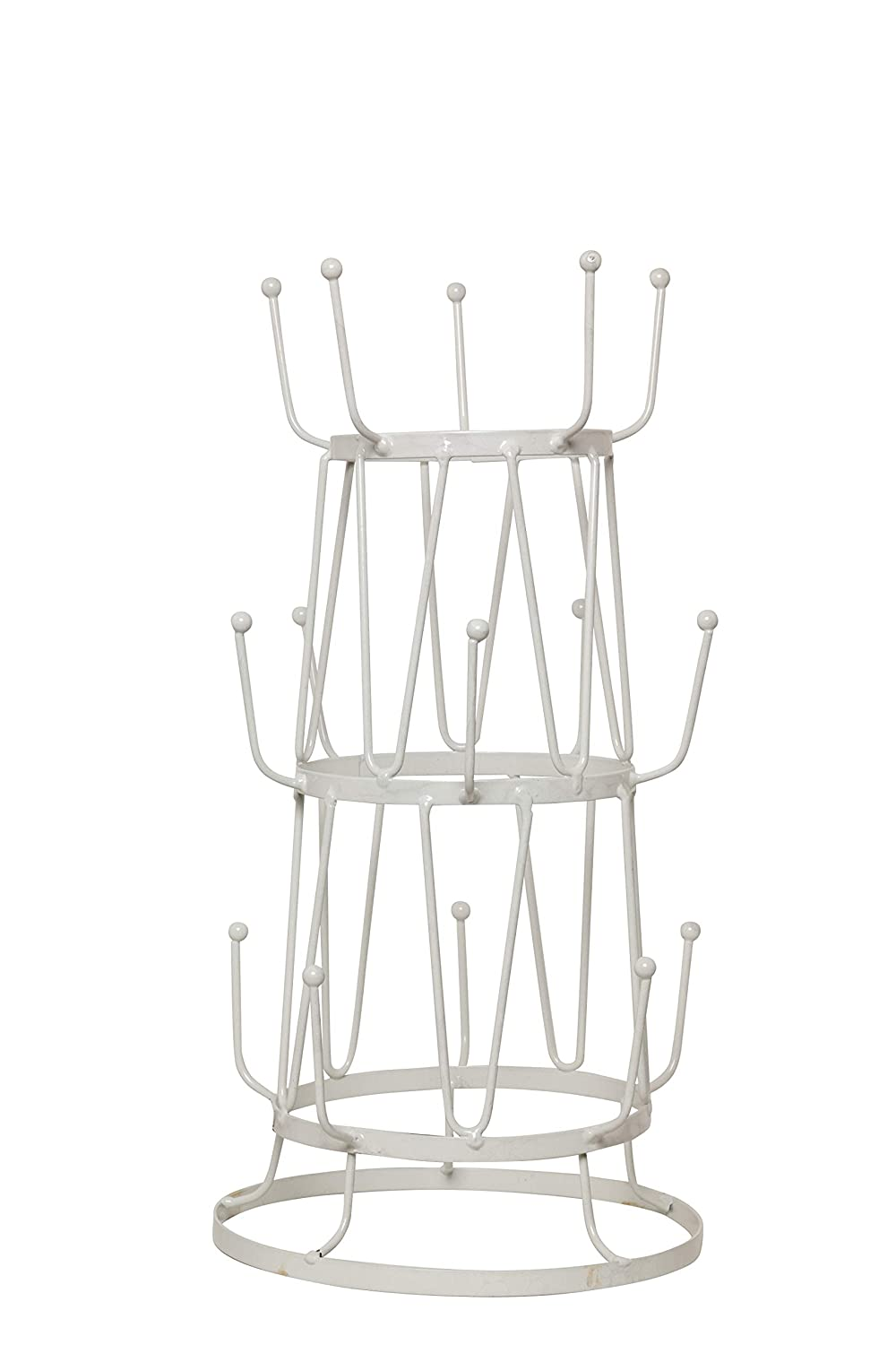 Useful. Uh Mt304 Mug Tree Stand Display Or Storage Purpose For Kitchen Counter, Coffee Table, Or Cabinet Storage (Black) (White) by Useful.