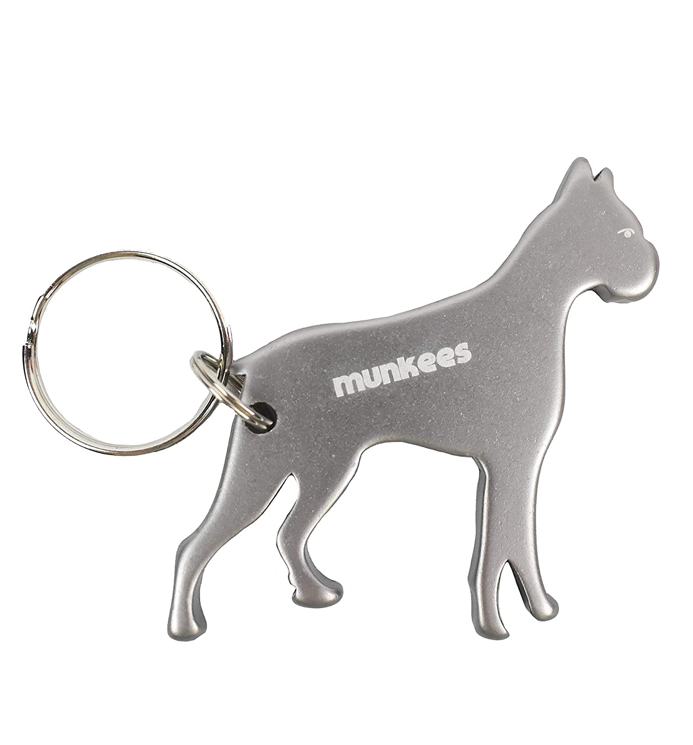 I Love Dogs Plastic Shopping Trolley Coin Key Ring Colour Choice New