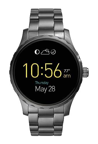 Fossil Reloj Hombre de Digital con Correa en Acero Inoxidable FTW2108: Amazon.es: Relojes