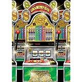 Amscan International Scene Setter Roll Casino Slot Machine