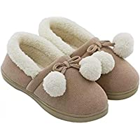 Windaze Women Slippers Soft Cozy Fuzzy Plush Memory Foam Shoes Slip On House Slippers Indoor Outdoor