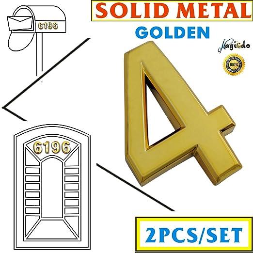 5 cm N/úmeros adhesivos para buz/ón