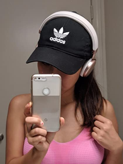 adidas Men's Originals Relaxed Strapback Cap Perfect fit for my wife!