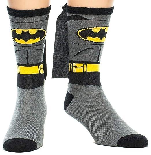 Batman Cabo Jrs Gris Rodilla calcetines altos: Amazon.es: Juguetes y juegos