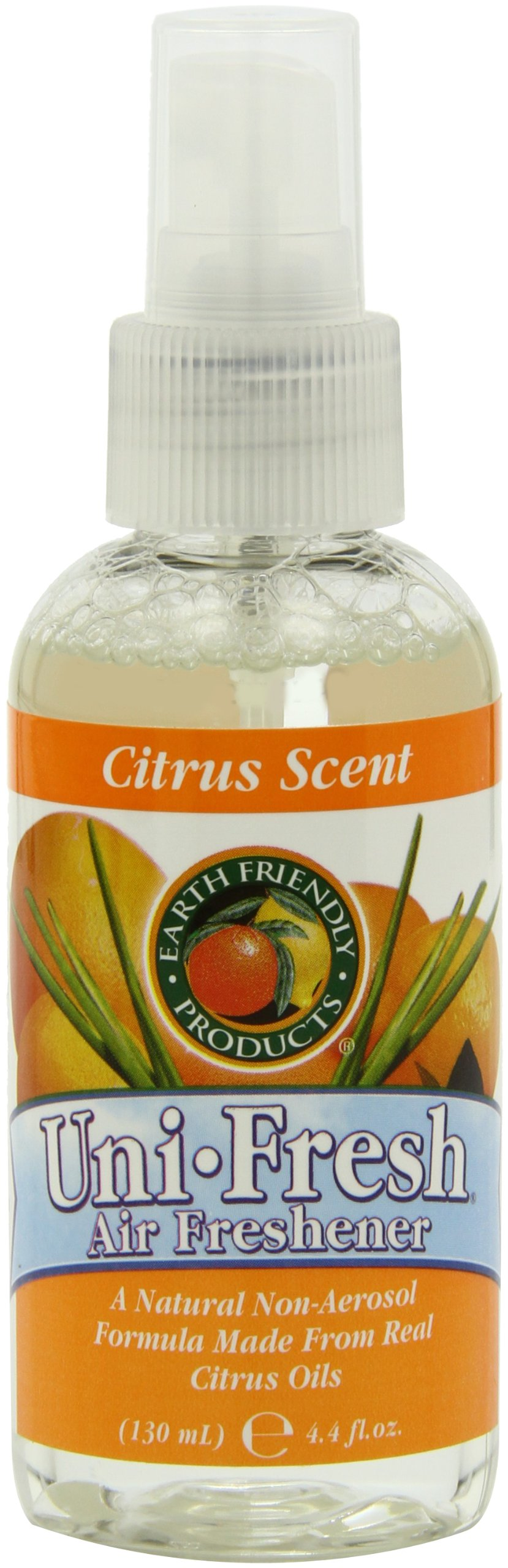 Earth Friendly Products Uni-Fresh Natural Air Refresher, Non-Aerosol, Citrus - 4.4 Ounces (Pack of 12) by Earth Friendly Products