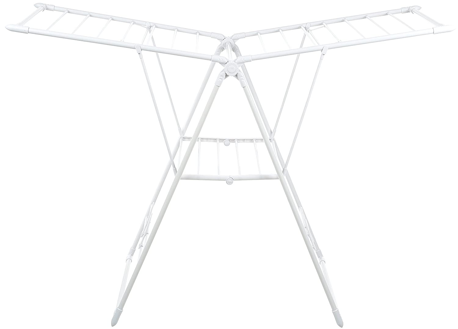 AmazonBasics Gullwing Clothes Drying Rack - White WIGAR-030