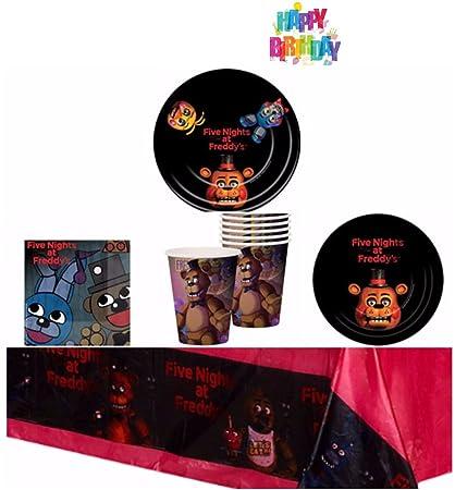 Amazon.com: Five Nights at Freddy s Fiesta de cumpleaños ...