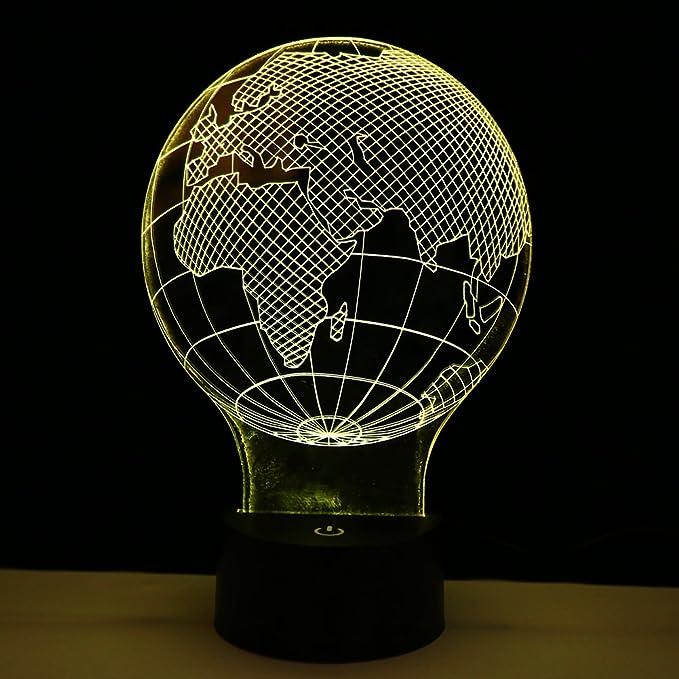 1 opinioni per Yosoo lampada cavallo 3d lampada da tavolo lampada da tavolo lampada luce