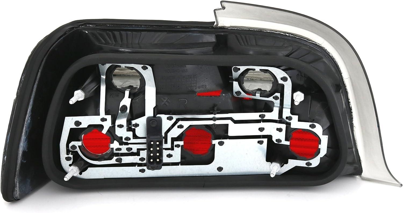 Nero/ Destra AD Tuning GmbH /& Co /Bianco KG DEPO Set Luci Posteriori Sinistra