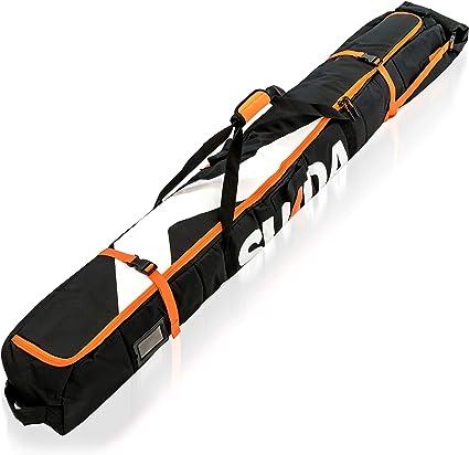 Element Equipment Padded Ski Bag Adjustable Fits Travel Ski Bag