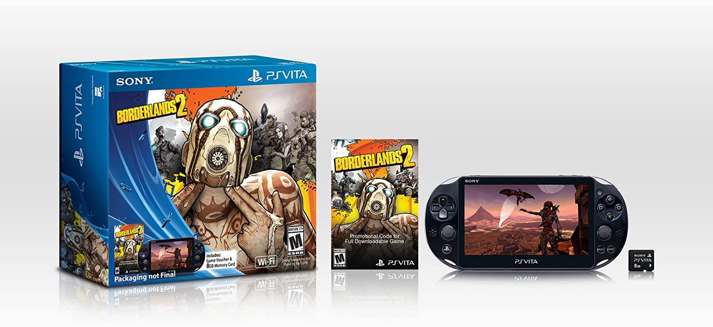 Amazon.com: Sony Playstation Borderlands Bundle PS Vita ...