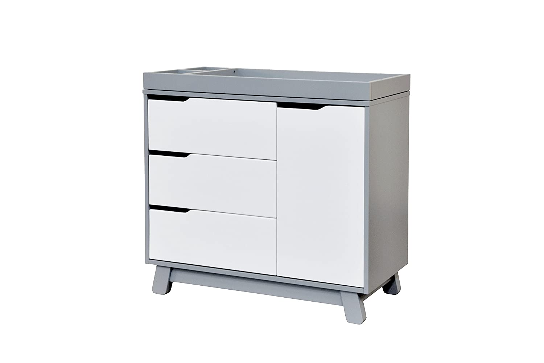 Amazon.com : Babyletto Hudson Changer Dresser, Grey/White : Nursery  Dressers : Baby